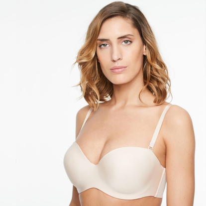 Chantelle Axelbandslös Bh Absolute Invisible Golden Beige 85B