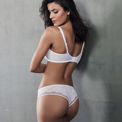 Selma Brazilian Shorty White