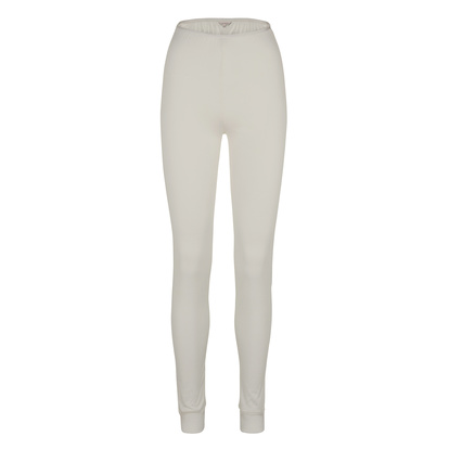 Lady Avenue Silk Jersey Tights Off-white