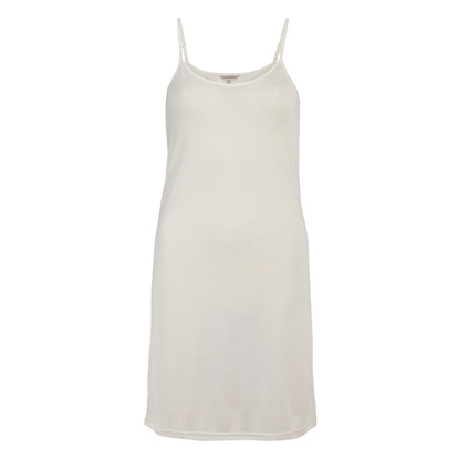 Lady Avenue Silk Jersey Slip Nattlinne Off-white