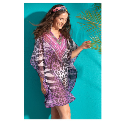 Pastunette Beach Tunika One Size Purple