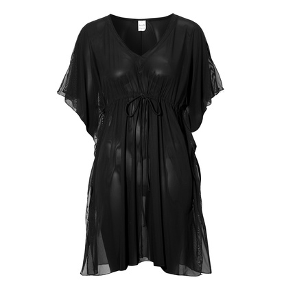 Damella Tunika Cover-up Black One Size