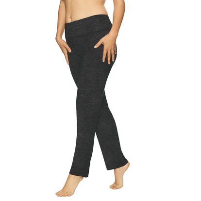 Lady Avenue Bamboo Yoga Pants Grey Melange