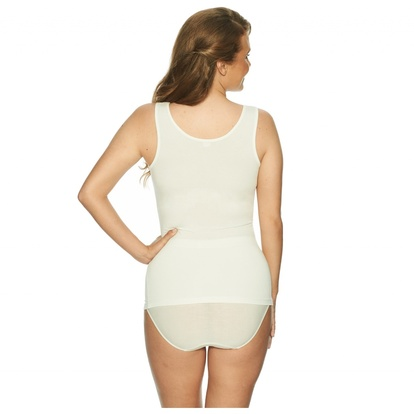 Lady Avenue Linne Bamboo Lace Off-white