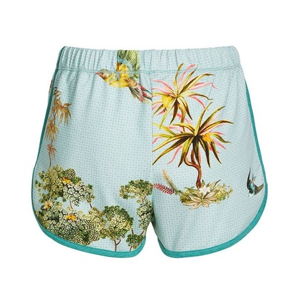 Pip Studio Shorts Bali C´est La Tree Blue
